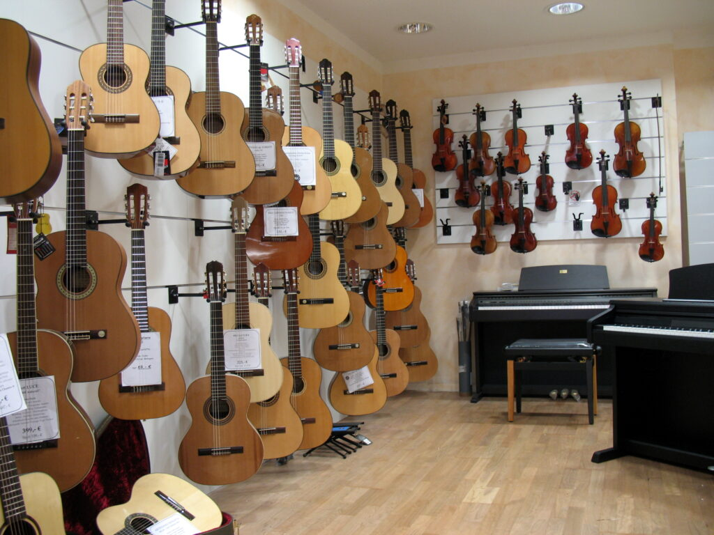 musicus Freiburg - Laden innen